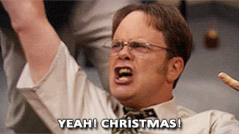Dwight Christmas.Dwight Christmas Gifs Get The Best Gif On Giphy