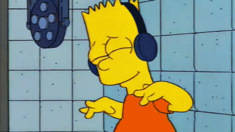 Groovy Feeling It The Simpsons Gif Find Share On Giphy Beutiful Home Inspiration Ommitmahrainfo