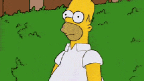 Disappear The Simpsons GIF - Find & Share on GIPHY