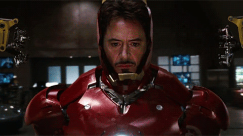 Iron man GIFs - Get the best GIF on GIPHY