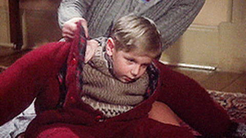 A Christmas Story Kid In Snowsuit.A Christmas Story Gif Find Share On Giphy